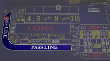 Mise «Pass Line»